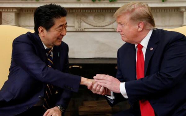 特朗普称已与日本达成初步贸易协议
