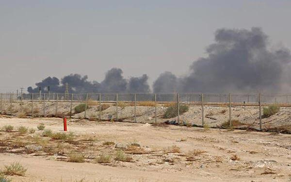 特朗普 沙特石油设施遇袭 伊朗
