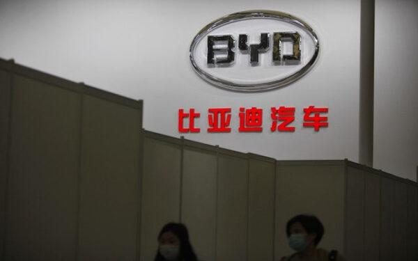 比亞迪 中國 電動車 新能源車