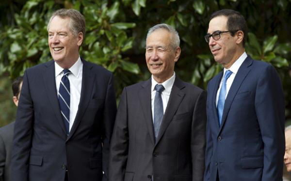 中美贸易谈判 有限协议