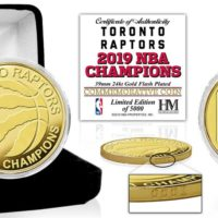 Toronto Raptors 2019 NBA Finals Champions - Gold Coin