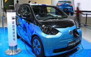 中国新能源汽车规划
