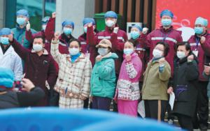 中国冠状病毒疫情转折点
