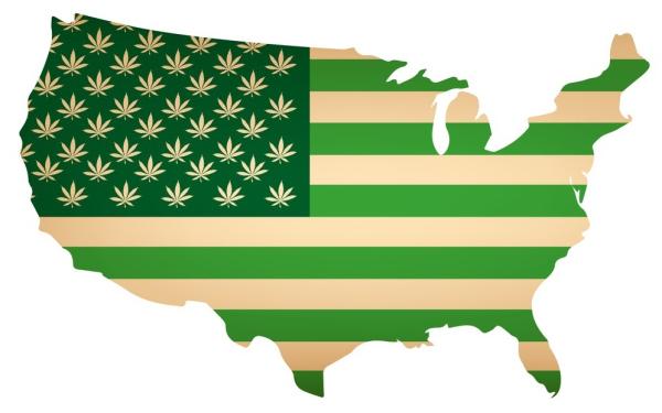 美国各州合法大麻行业