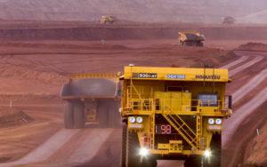 力拓季度铁矿石发货量上升5.5%