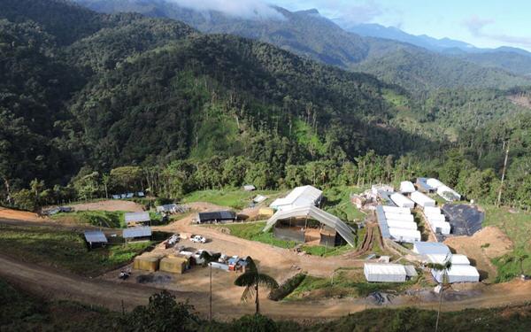 SolGold厄瓜多尔的铜矿项目