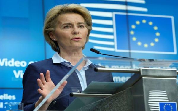 欧盟主席冯德莱恩将公布万亿欧元复苏计划