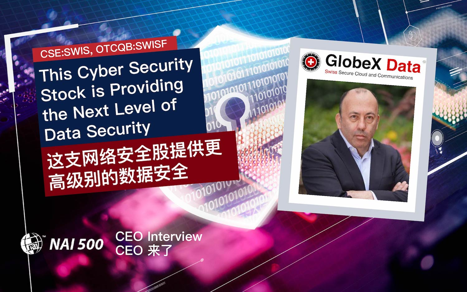 GlobeX Data Cyber Security Stock 网络安全股