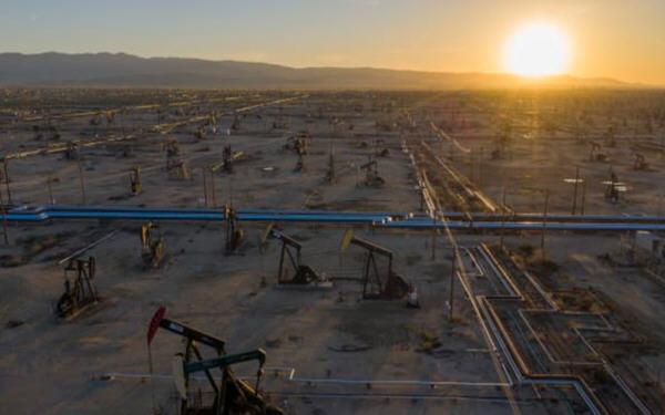 油价周一涨幅超过2%