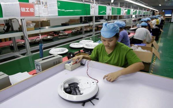 PMI指数显示7月份中国工厂活动加快复苏