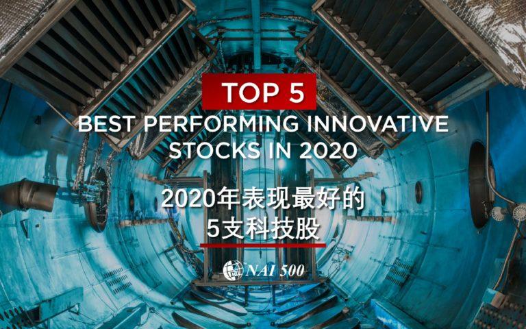 top performing innovative stocks