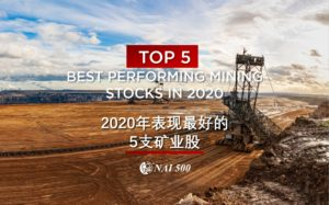 top performing mining stocks