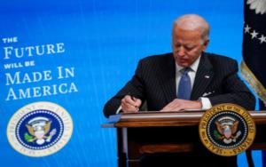 美国总统拜登:用电动车取代整个联邦车队