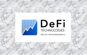 DeFi Holdings Inc. - a subsidiary of Routemaster Capital Inc.