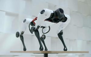中国腾讯发布首款多模态四足机器人