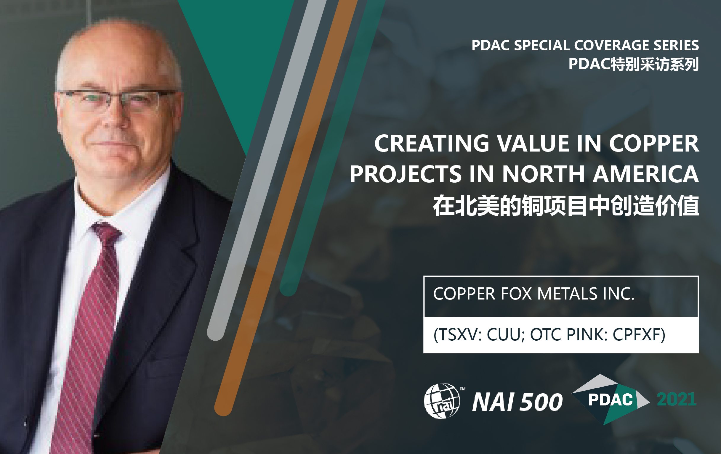 Creating Value in Copper Projects in North America – Copper Fox Metals Inc. (TSXV: CUU) | PDAC 2021 Special Coverage