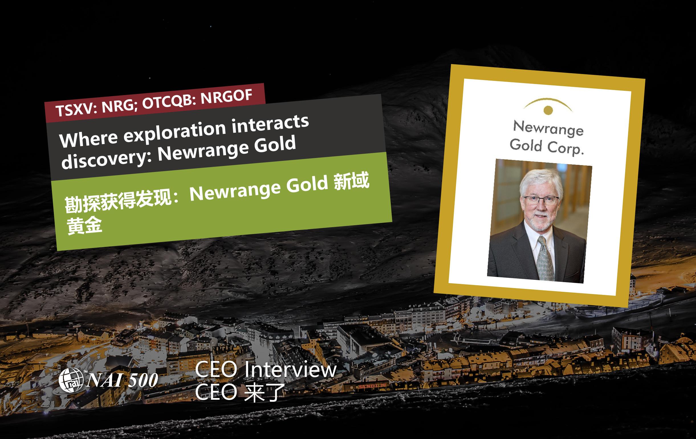 Where exploration interacts discovery: Newrange Gold (TSXV: NRG)