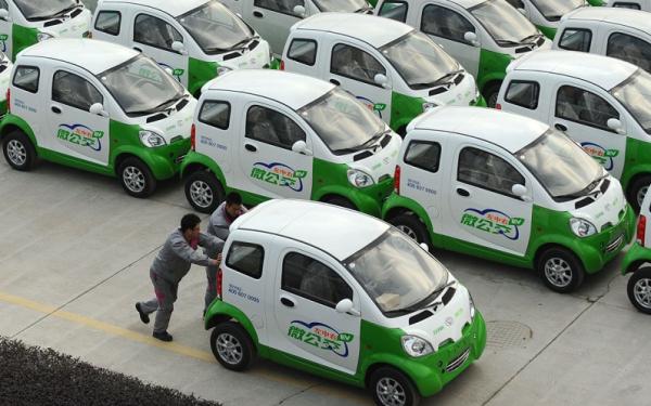 中国电动车行业