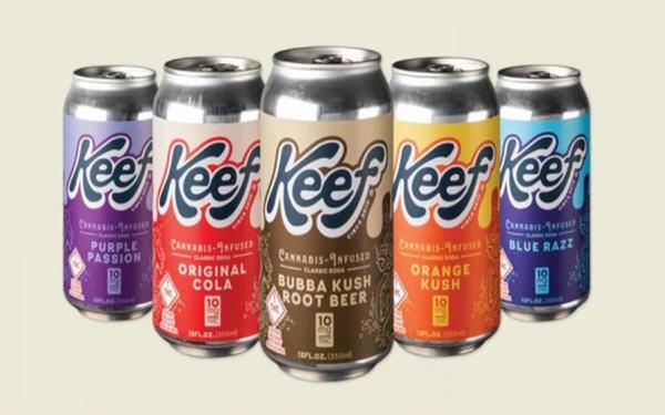 Keef Brands大麻饮料